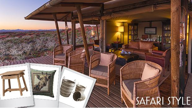 LODGE EN NAMIBIE