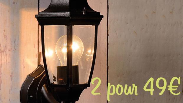 Lampe extérieure LED