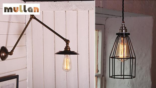 luminaire, lampe, ampoule, mullan