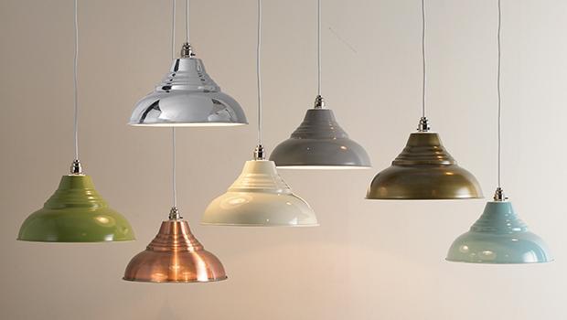 Lampes et couleurs douces