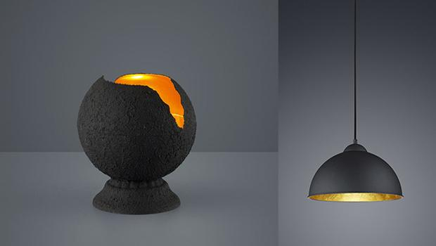 Lampes design par Trio