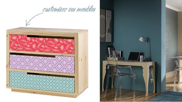 Meuble en bois peint personnalisez vos meubles westwing for Meuble bois peint