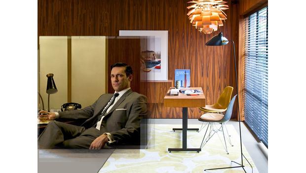 Un bureau à l'esprit 60's