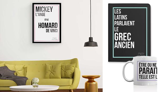 mug cadeau humour affiche message drôle décoration accessoires