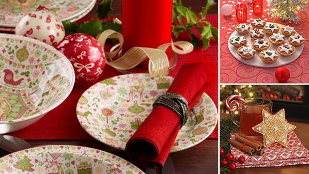 MIX - table de Noël