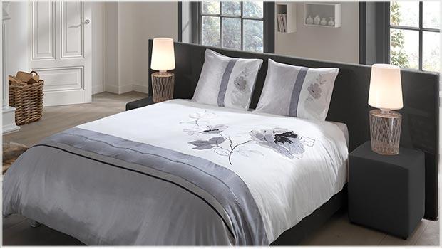 Nuances de gris-Linge de lit (Muller)