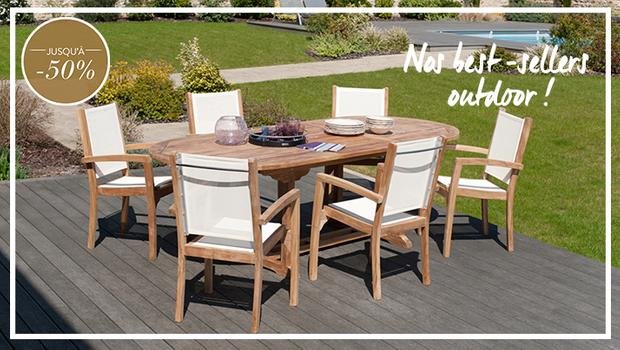 Outdoor furniture - Teck
