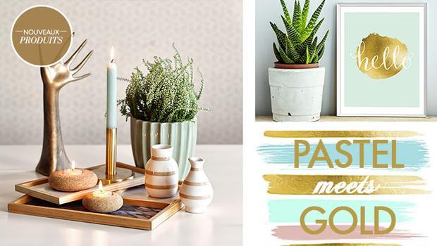 pastel/gold