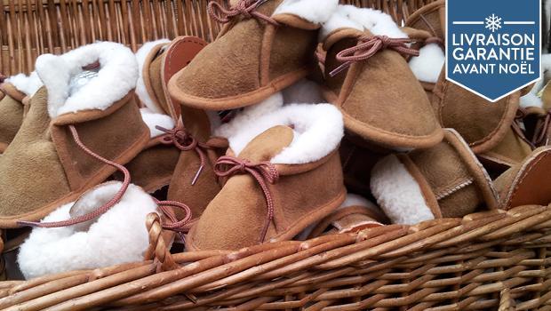 Chaussons en laine