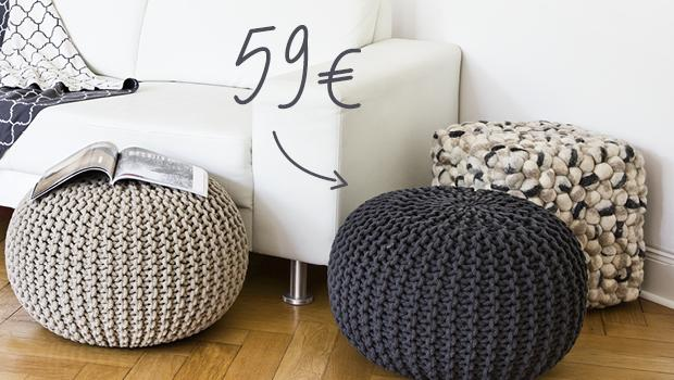 Poufs Private Label
