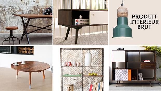 produit int rieur brut mobilier mobilier de caract re westwing. Black Bedroom Furniture Sets. Home Design Ideas