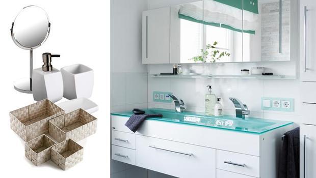 salle de bain brosse rangement organiseur poubelle