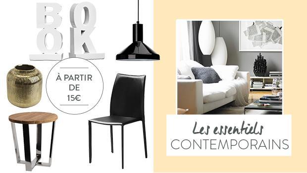 salon contemporain minimaliste