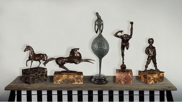 sculptures en bronze arte dal mondo reproduction