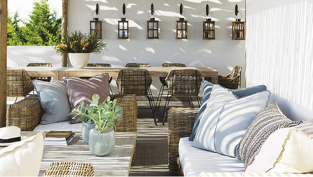 Seaside lodge : terrasse chic