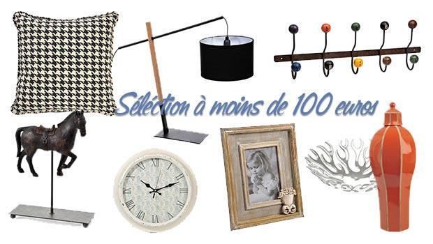 SÉLECTION À MOINS DE 100 EUROS !