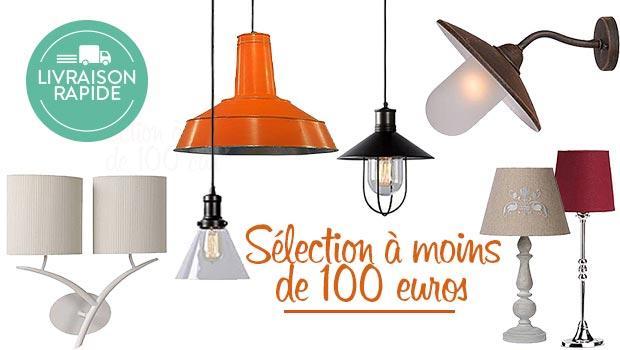 sélection luminaires à - 100€