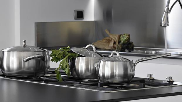 poele casserole wok inox