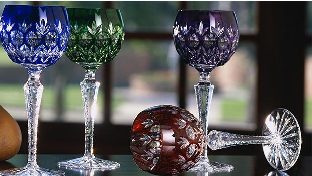 cristal drinkware carafes wine glasses cocktail handmade