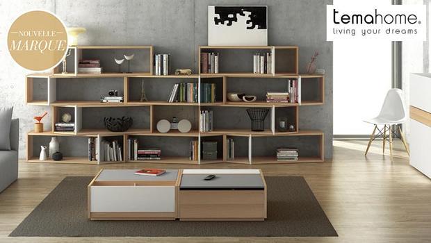 mobilier salon rangements tema home