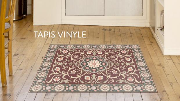 Dessous de plat tapis stickers tiva design