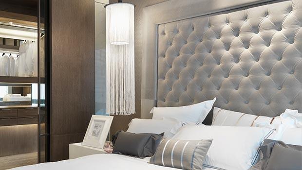 T te de lit contemporain charme westwing - Modele tete de lit contemporain ...