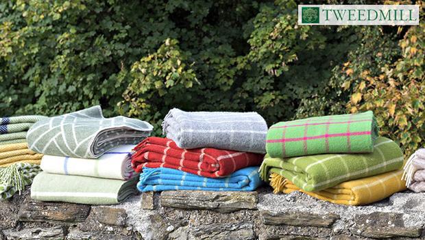 plaid couvertures tweedmill pique nique picnic couverture