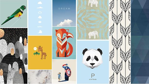 wall art affiches mur
