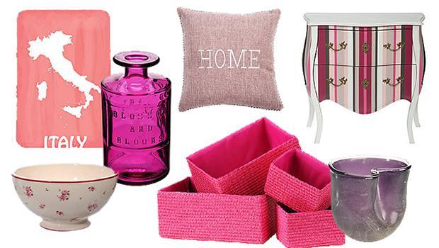 déco accessoires mobilier rose pink bohème