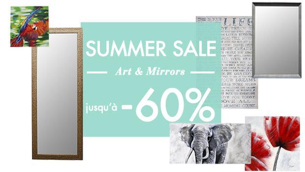 Super Summer Sale - Spiegels en schilderijen