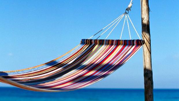 Relaxin the hammock!