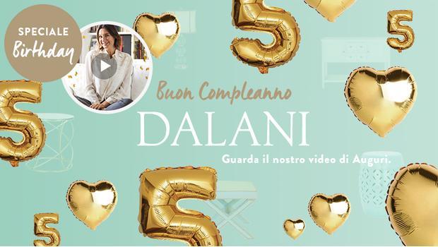 Buon Compleanno Dalani!