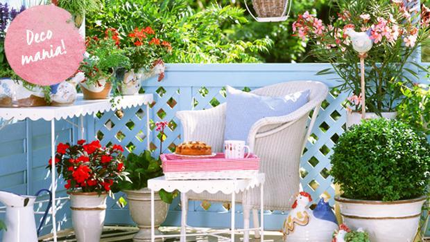 Veranda in fiore