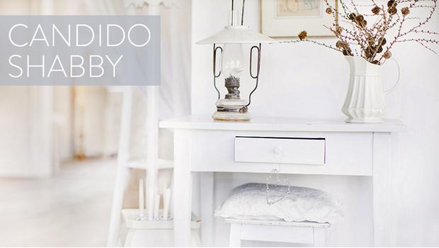 Total white arredi shabby westwing for Arredi shabby