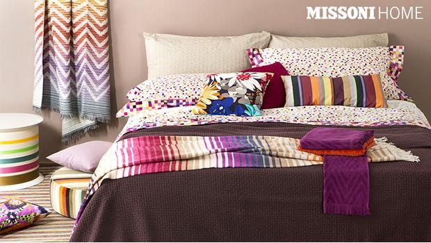 Missoni home letto spugne tappeti cuscini westwing - Missoni home tappeti ...