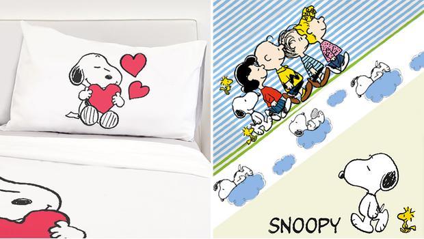 Peanuts bedding