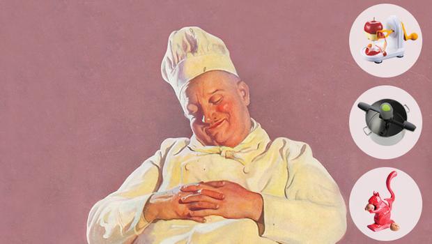 Pigri in cucina