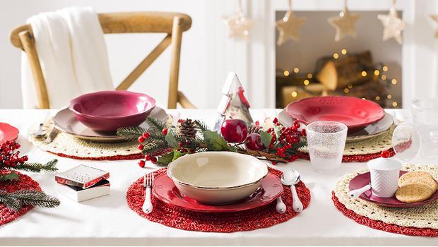 La tavola di natale mise en place e decorazioni westwing for Decorazioni tavola natale