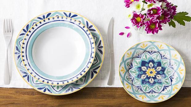 Tognana porcellane per la tavola westwing - Piatti colorati ikea ...