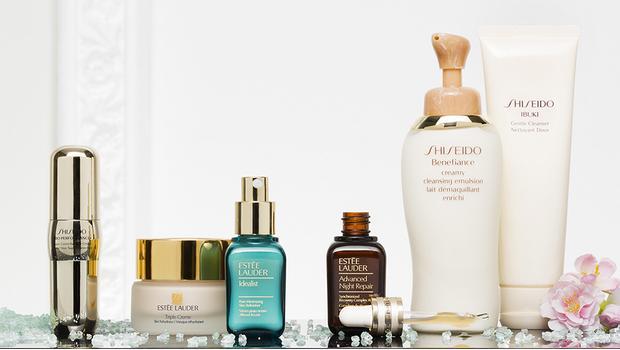 Estée Lauder &Shiseido