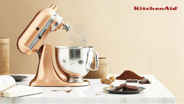 KitchenAid Artisan Rame, Cromo, Satin: scopri il robot da cucina in ...