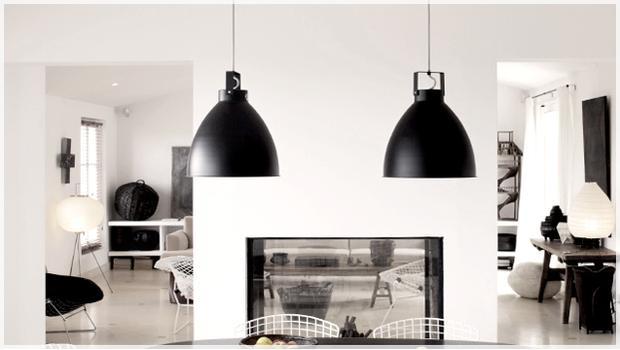 Black and lights