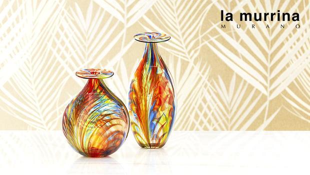 la murrina tradizione e design per luci e vasi dalani