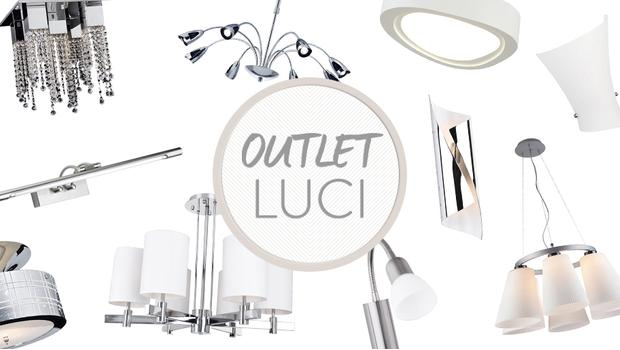 Outlet luci