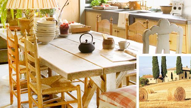 Pane, amore, Toscana