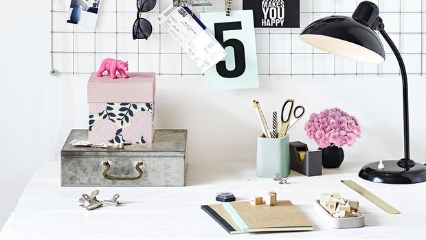 Personalizza la scrivania