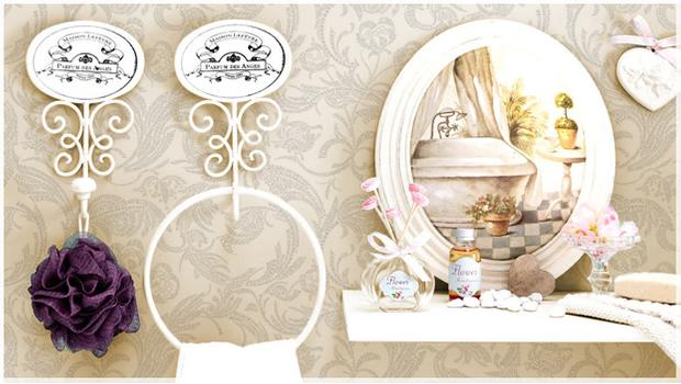 Il bagno shabby mobili accessori per il bagno westwing - Bagno shabby immagini ...