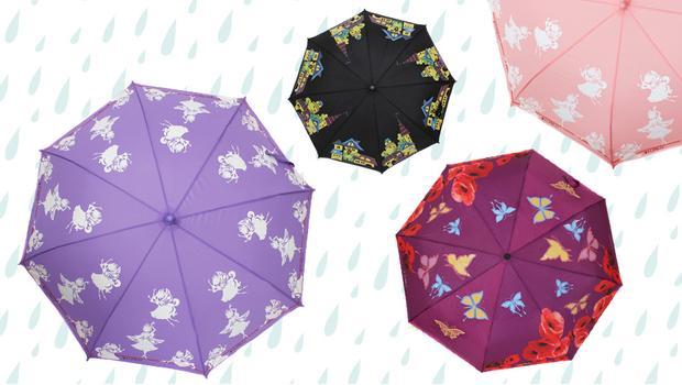 Зонты, меняющие цвет
