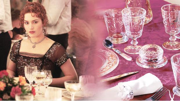 В ресторане Титаника