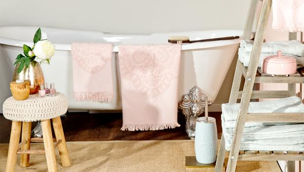 De boho badkamer Handdoeken en accessoires | Westwing